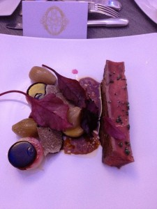 Aquitaine beef truffle shavings and more