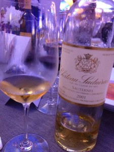 Superb Sauternes from the great vintage 2001