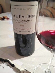 Great vintage at Haut Bailly, if not quite as good as the 2005. Let us see where it is four years from now!
