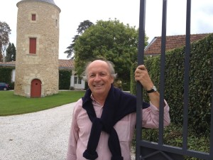 Tristan Kressmann, owner of Chateau Latour Martillac, on 14 September 2013