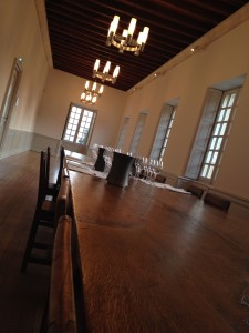 Former Scriptorium as tasting room