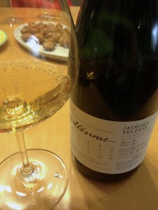 A fantastic Jacques Selosse 2002, thanks to friend and wine lover Michael Lux