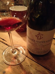 Wine of the night?